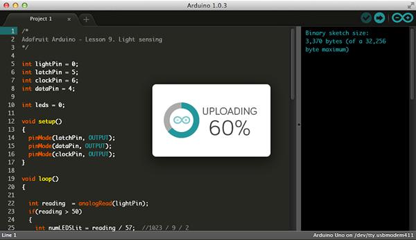 Arduino ui redesign on pantone canvas gallery
