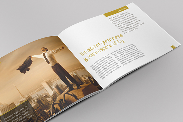 Exclusive Horizontal Brochure on Behance