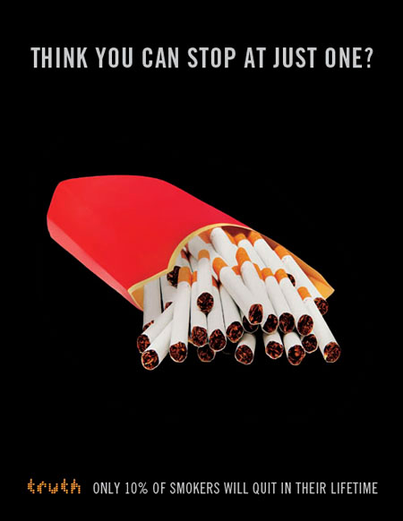the anti smoking media campaign among adolescents The introduction of plain packaging for cigarettes in australia has reduced the appeal of smoking among adolescents and anti-smoking media campaign to.