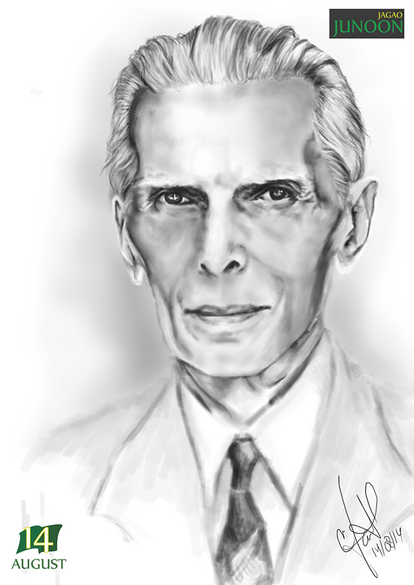Mohammad ali jinnah quaid e azam on behance