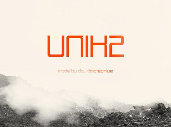 Unik2 Font Download