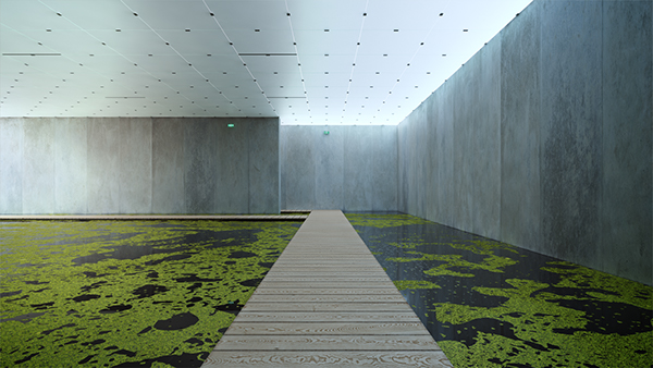 bregenz museum animation peter zumthor on behance. Black Bedroom Furniture Sets. Home Design Ideas