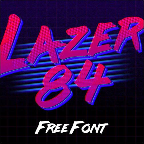 panama font free Free font tipografia gratis Retro 80's