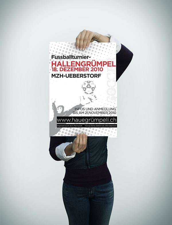 Plakat Print Typografie