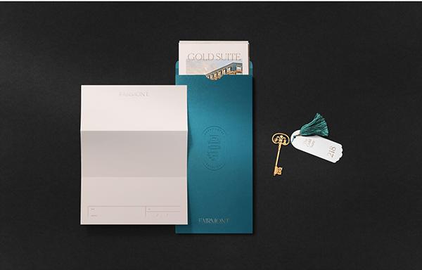 Fairmont Hotel Website Design & Brand Identity