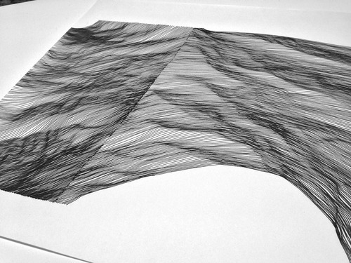 Using Lines In Drawing : Circadian lines on behance