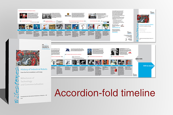 Robotics History Brochure On Behance