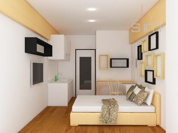 Greenbay Studio Apartment Design On Student Show