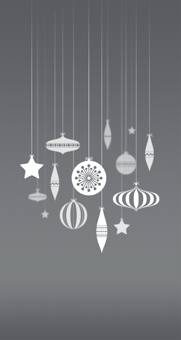 iphone wallpaper iphone iOS 7 christmas wallpaper iPhone Christmas Wallpaper baubles peach rouge night Frosty Sage fresh iphone 5 iphone 5s iphone 5c