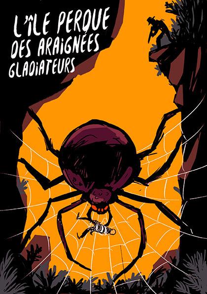spider presse magazine Scientist kid bugs insecte
