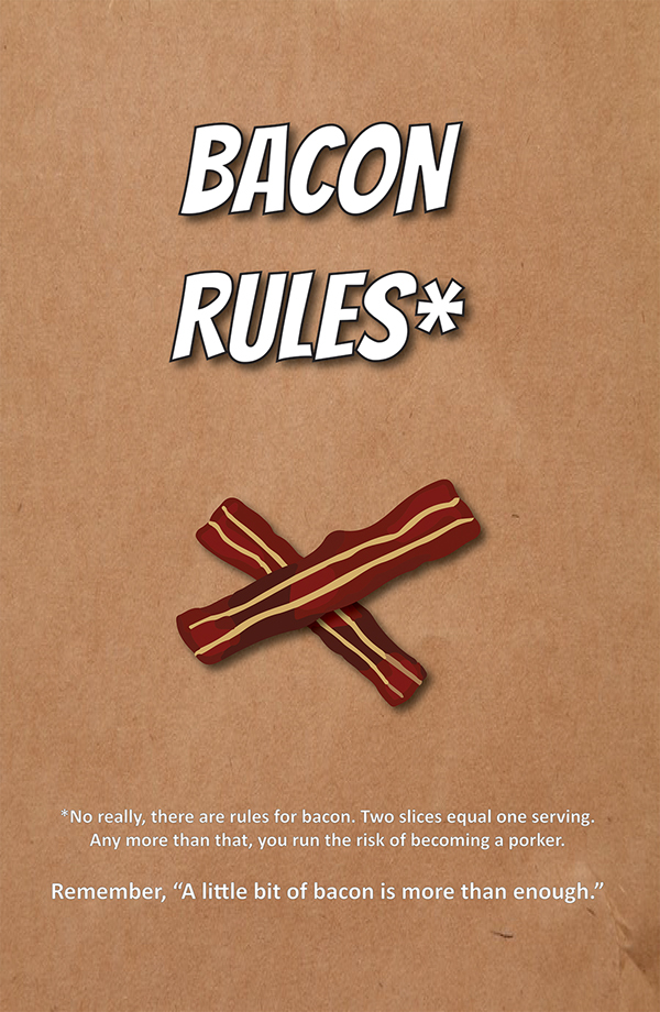 Bacon Coloring Page Coloring Page Rasher