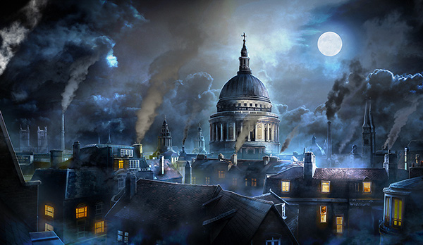 Game Backgrounds - Sherlock Holmes: Lost Detective on Behance