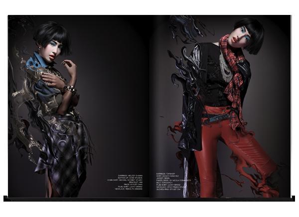 editorial magazine creative beauty stylist art fatkur rokhim svpermachine indonesia ILLUSTRATION
