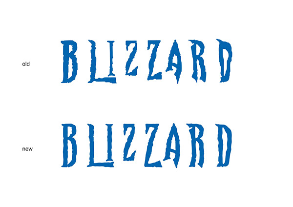 Redesign The Blizzard Logo Concept On Student Show