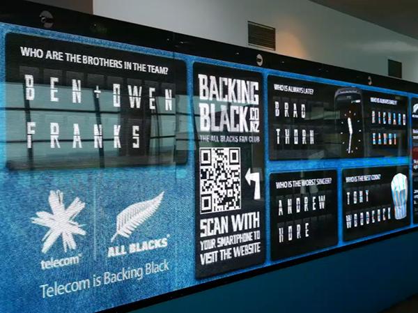 Telecom Backingblack Digital Wall On Behance