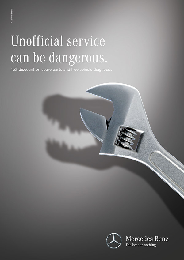 Mercedes benz service on adweek talent gallery for Mercedes benz f service
