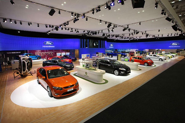 Exhibition Stand Modules : Ford  australian international motor show on behance