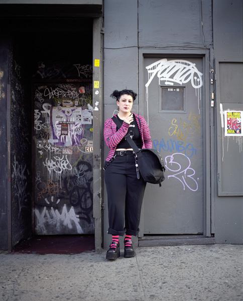 Smokers New York portrait