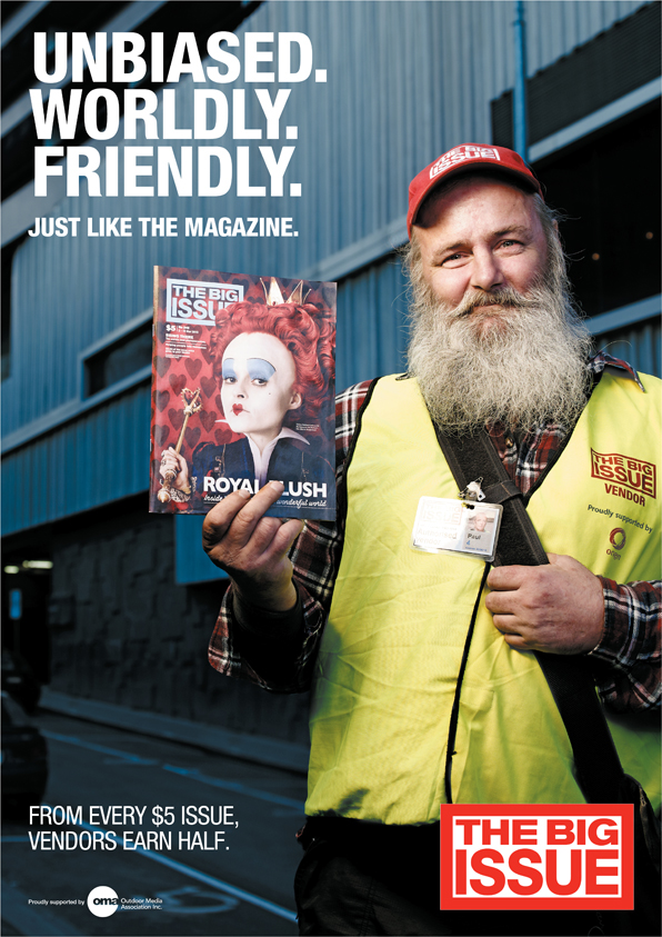 The Big Issue 2011 Campaign On Behance