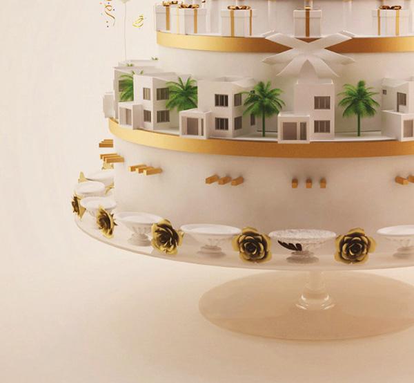 Cake Art Jeddah : Masharef Celebration Cake on Wacom Gallery