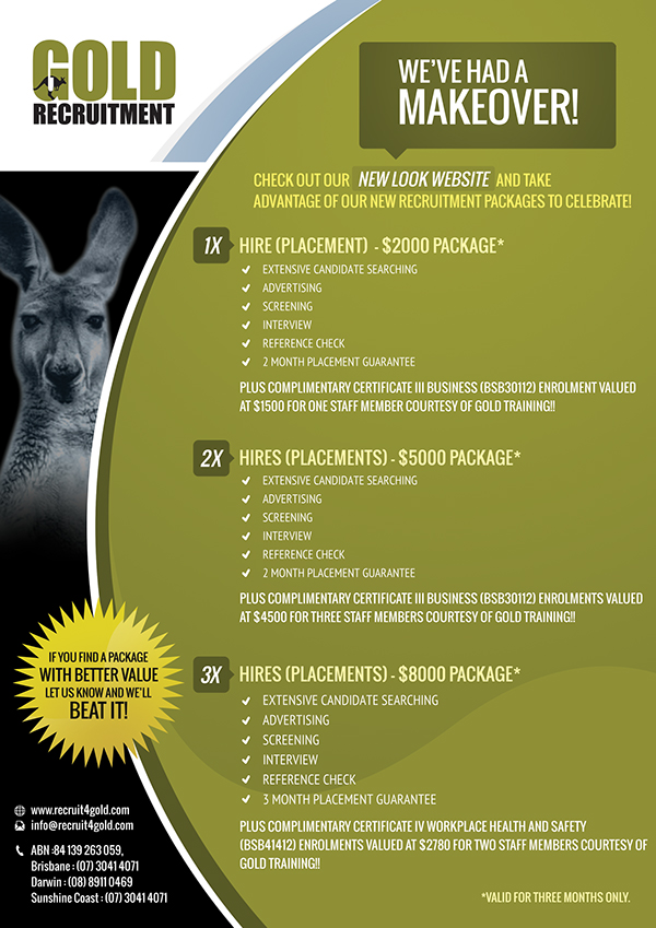 flyer,Recruitment company,promotional flyer,business