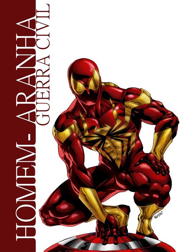 Ilustracao Homem Aranha De Ferro Iron Spider On Behance