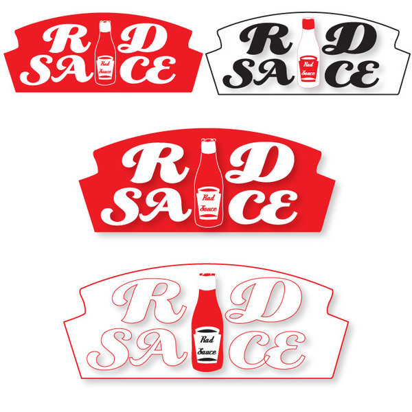 Sauce Logo Logo Design For Rad Sauce