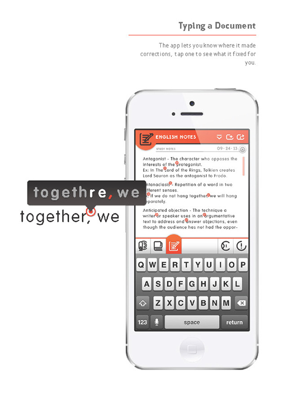 Cipher | Word processing App on Student Show