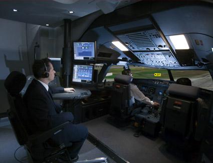 CAE 5000 series full flight simulator on Behance