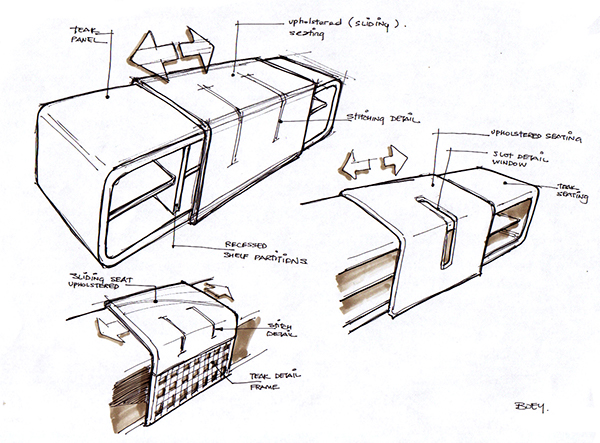 Charmant Design Sketches   Furniture Concepts On Behance