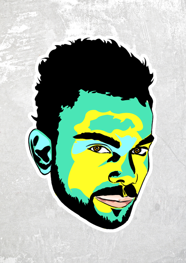 Virat Kohli Drawing On Behance