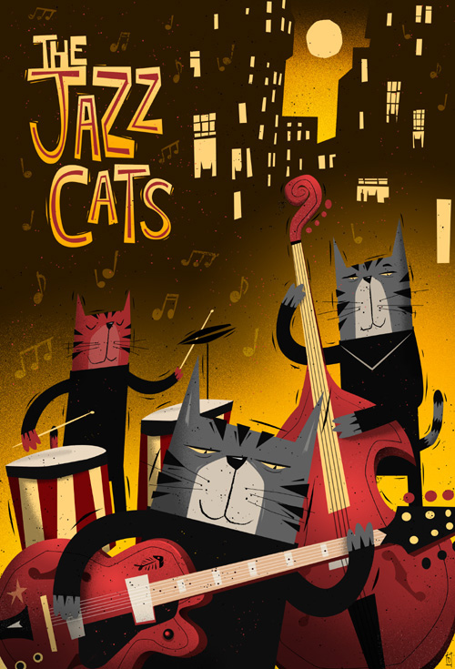 the jazz cats on behance