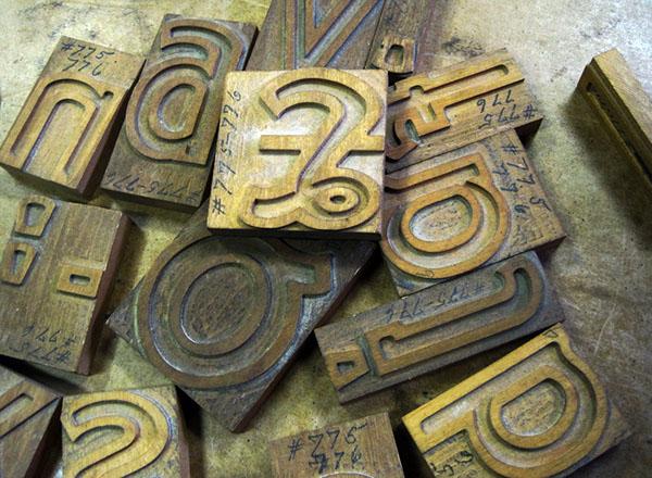 hamilton wood type fonts typefaces type wood type wood