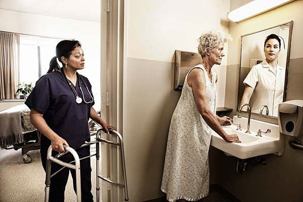 healthcare Commercial Photography Tom Hussey TOM HUSSEY Photography Reflection Campaign mirrors alzheimers aging Memory