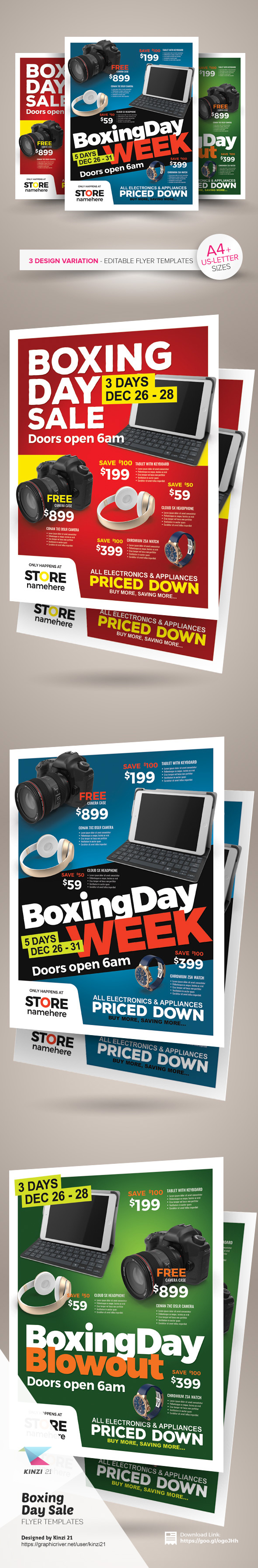 boxing day flyer templates on behance boxing day flyer templates are fully editable design templates created for on graphic river more info of the templates and how to get the