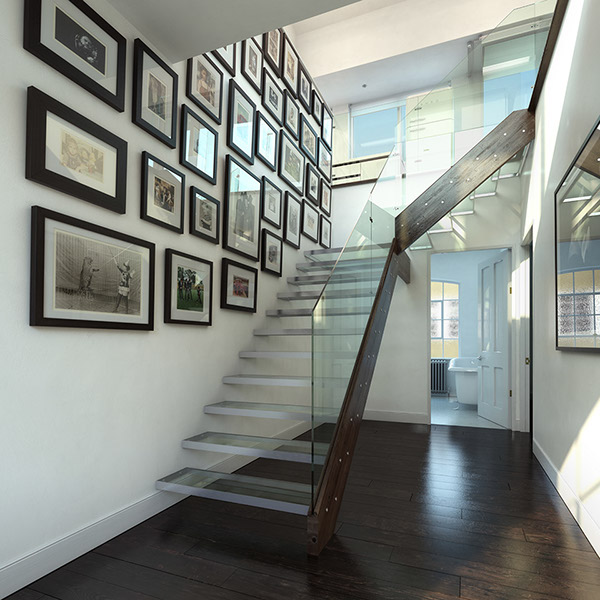 3d Visualisation Duplex Interior Cgi On Behance