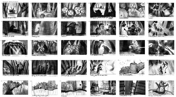 Storyboard Sample On Behance