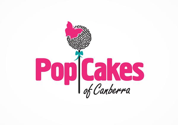 PopCakes Logo on Behance