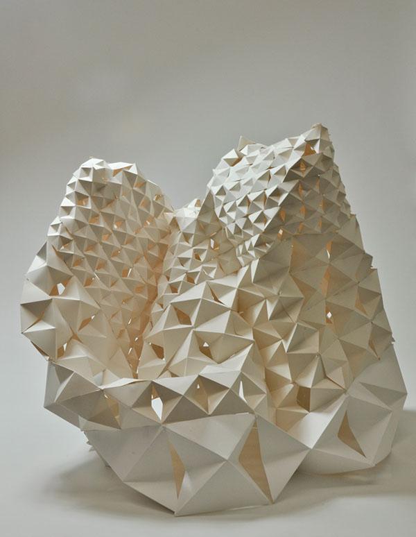 R 234 Verie Modular Paper Sculpture On Behance