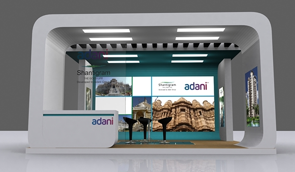 Exhibition Stall Fabricators In Ahmedabad : Exhibition stall design in ahmedabad on behance