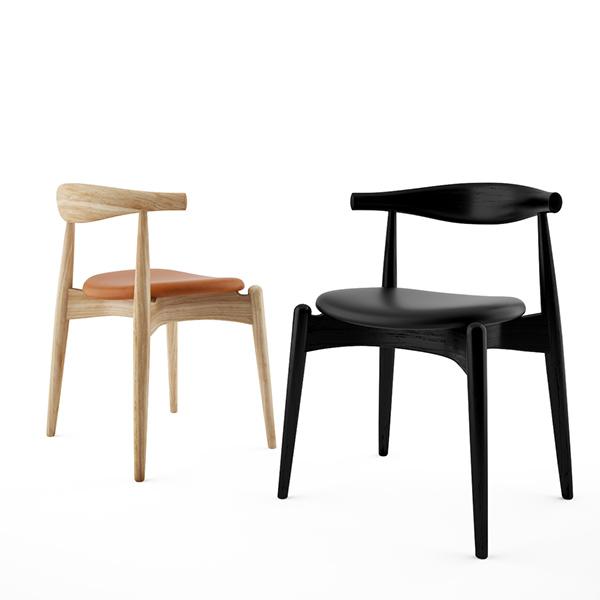 Free 3d Model: CH 20 Elbow Chair By Hans Wegner On Behance