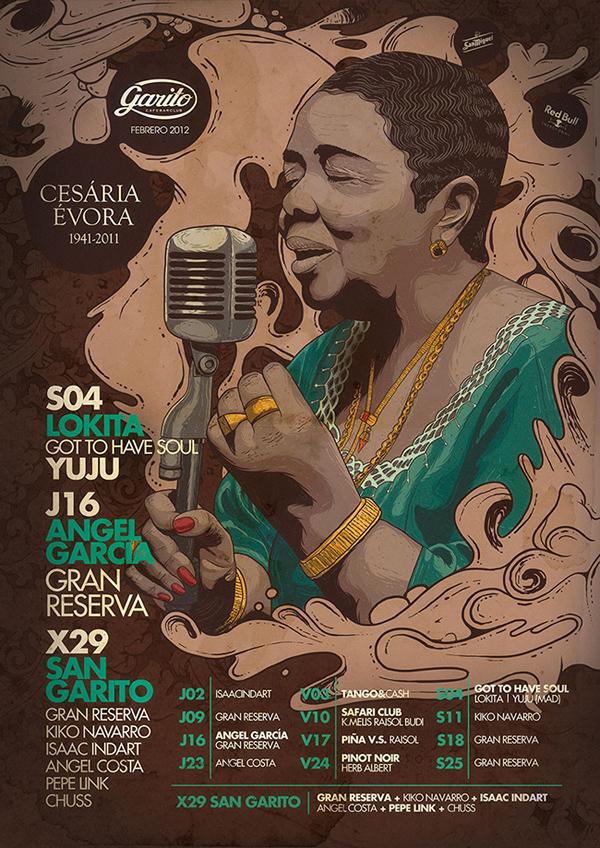 jaydee  garito JDILLA cesariaevora Gangstarr Guru tribute vector shapes vintage oldschool portraits
