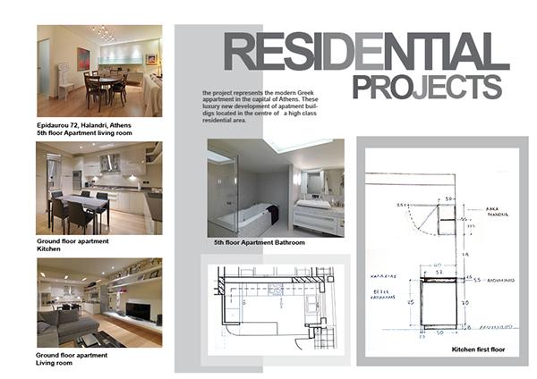 Interior design portfolio on behance for Interior design portfolio pdf