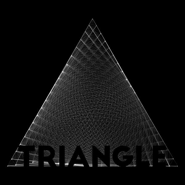 triangle geometry b&w Black&white Drum and Bass MADH xfactor italia visual visual art