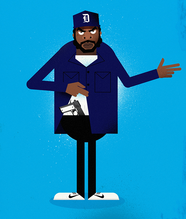 Doughboy Boyz N The Hood Drawing