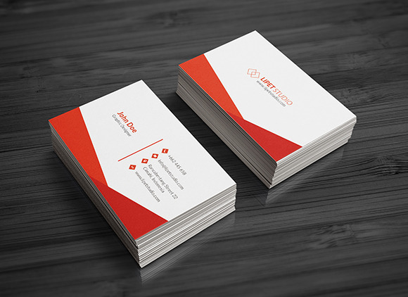 Sync - Simple Business Card Template