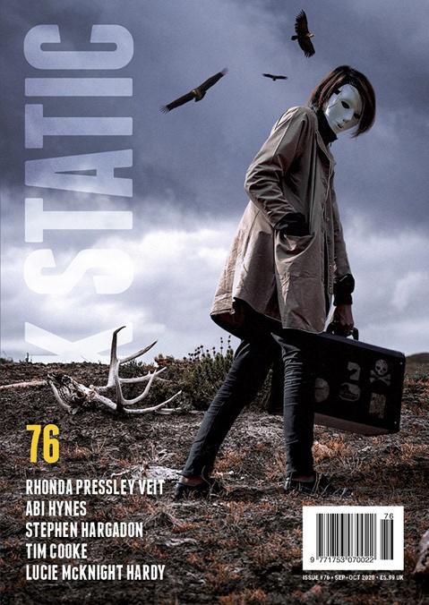 bleak figure horror Landscape mask Pestilence skull vulture