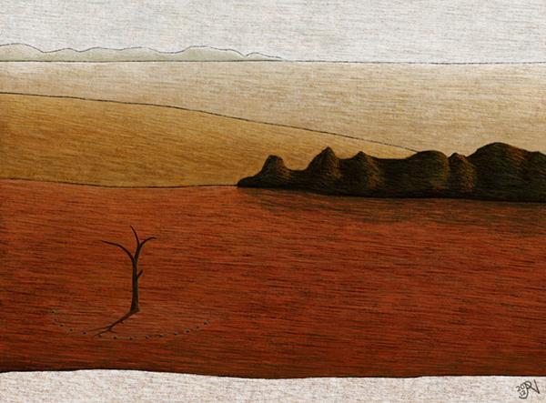 Landscape  Australian landscape Contemporary Landscape