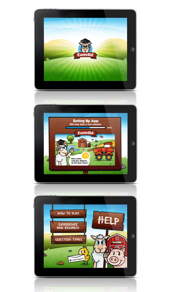app design app farm app educativa ewe eweclid