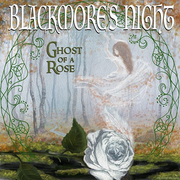 Blackmore S Night Ghost Of A Rose Album Cover Art On Scad Portfolios